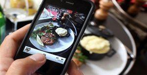 cara foto produk makanan