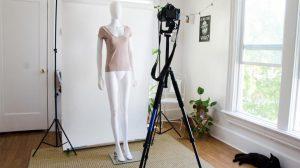 cara foto produk pakaian dengan benar